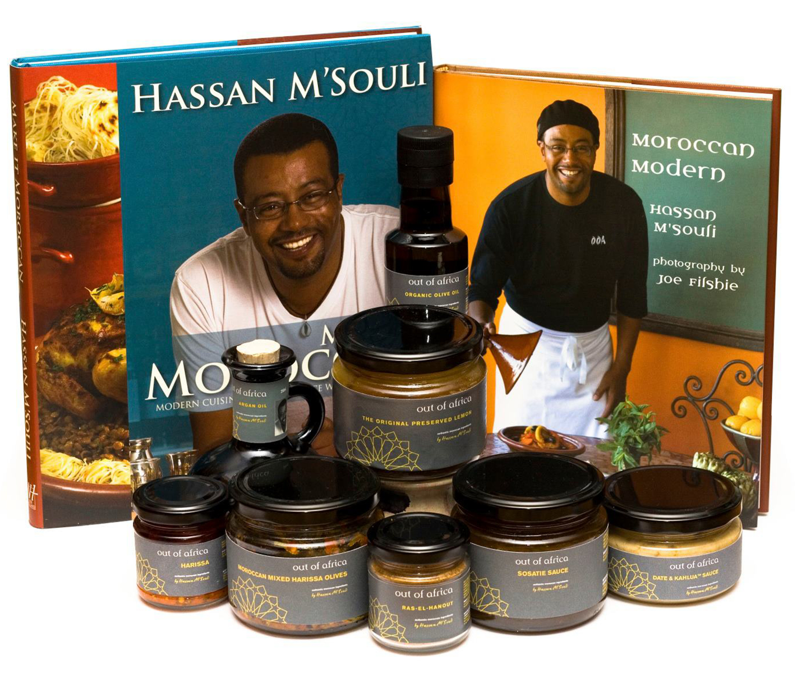 Books & Products by Hassan M'Souli
